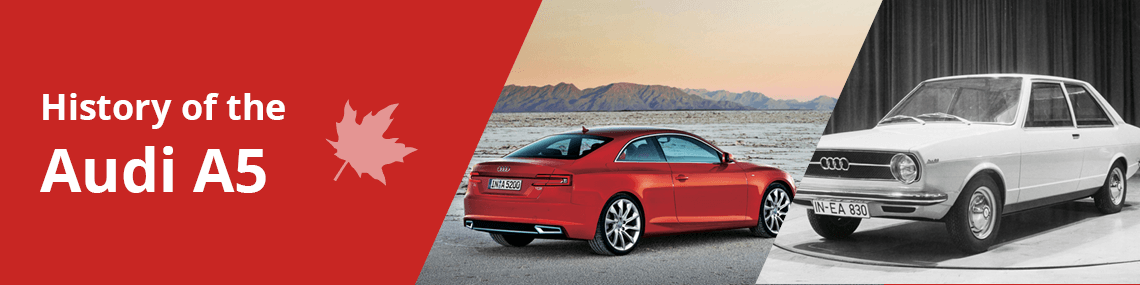 History of the Audi A5