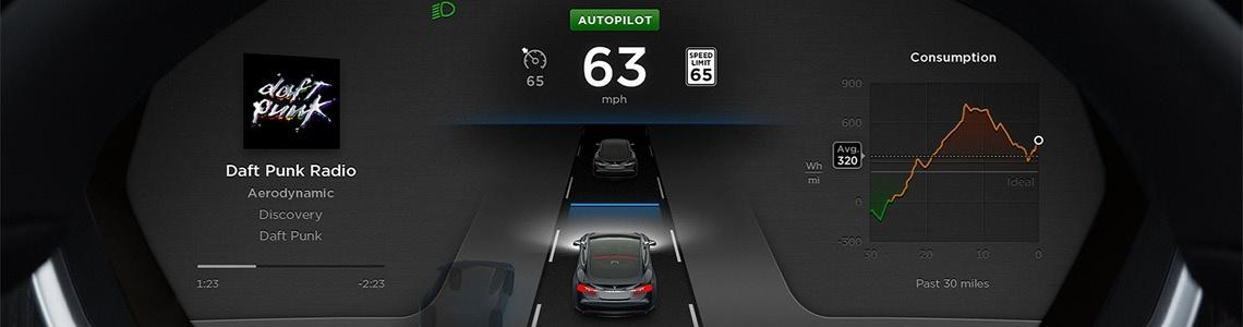 Autopilot Mode in the New Tesla Firmware