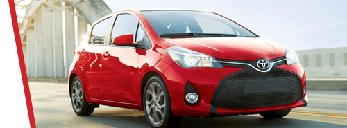 Toyota Yaris - Red Exterior 2