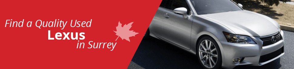 Used Lexus for sale in Surrey, BC